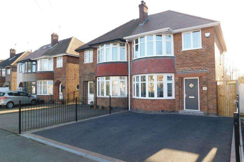 3 Bedrooms Semi Detached House for sale in Broom Leys Road, Coalville
