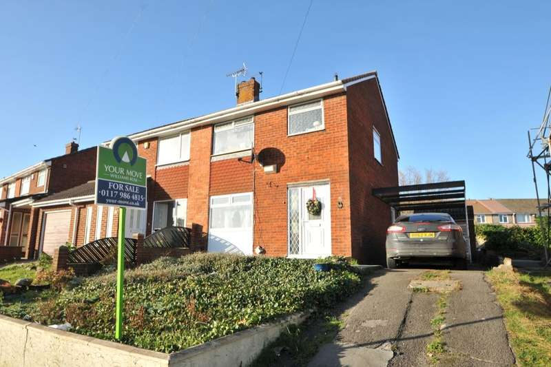 3 Bedrooms Semi Detached House for sale in Stockwood Lane, Bristol, BS14