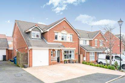 5 Bedrooms Detached House for sale in Fillmore Grove, Widnes, Cheshire, WA8