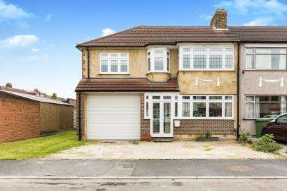 5 Bedrooms End Of Terrace House for sale in Collier Row, Romford, Havering