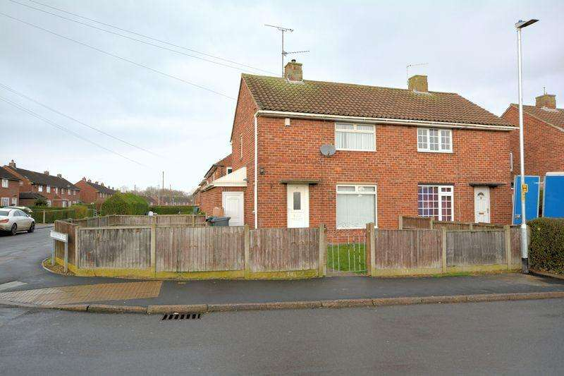 2 Bedrooms End Of Terrace House for sale in Willingham Avenue, Ermine East, Lincoln