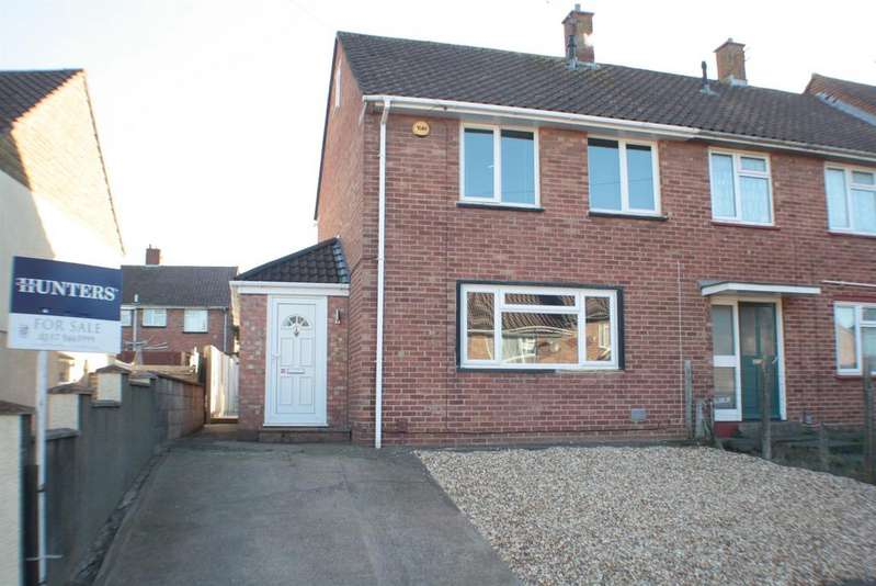 2 Bedrooms End Of Terrace House for sale in Shortwood Road, Hartcliffe, Bristol, BS13 0QJ