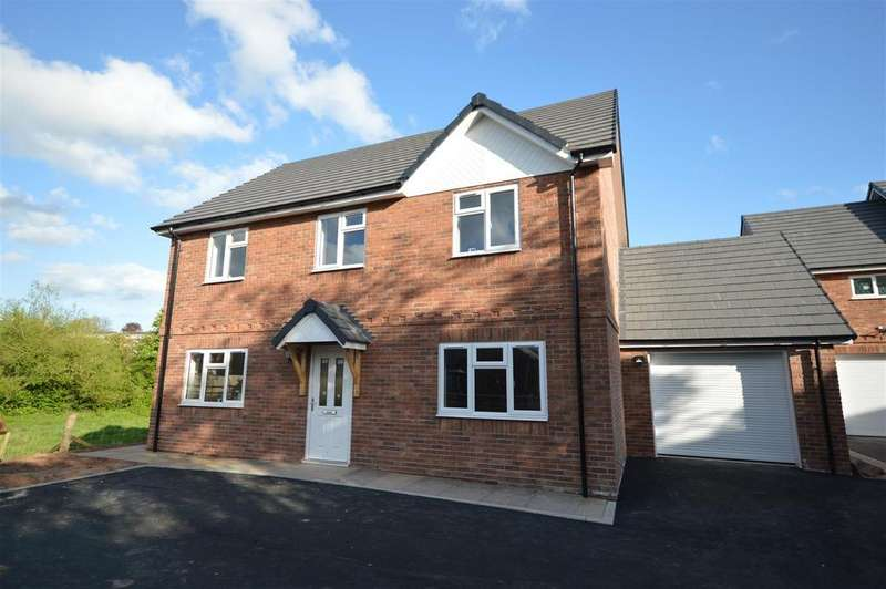 4 Bedrooms Detached House for sale in The Old Brickyard, Barons Cross Road, Leominster, Herefordshire