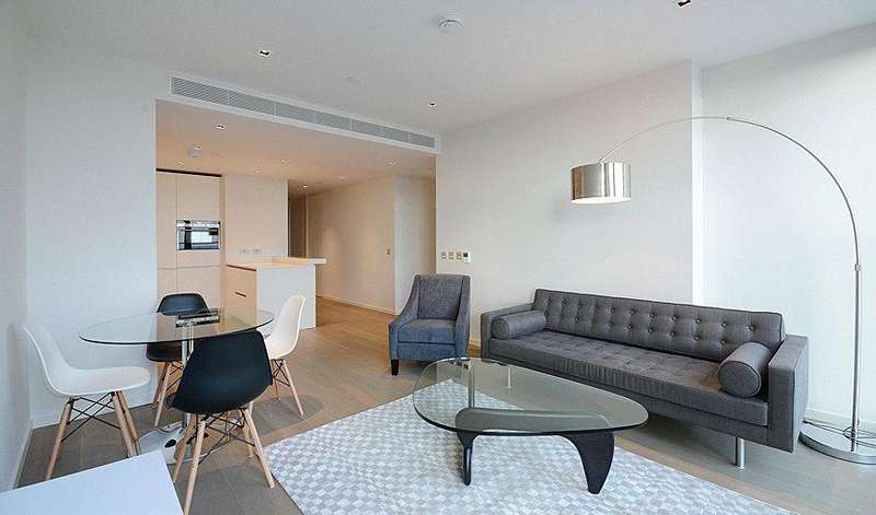 1 Bedroom Flat for sale in South Bank, London, SE1