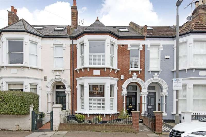 4 Bedrooms Terraced House for sale in Sainfoin Road, London, SW17