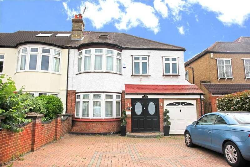 6 Bedrooms Semi Detached House for sale in Hadley Road, Enfield, London, EN2