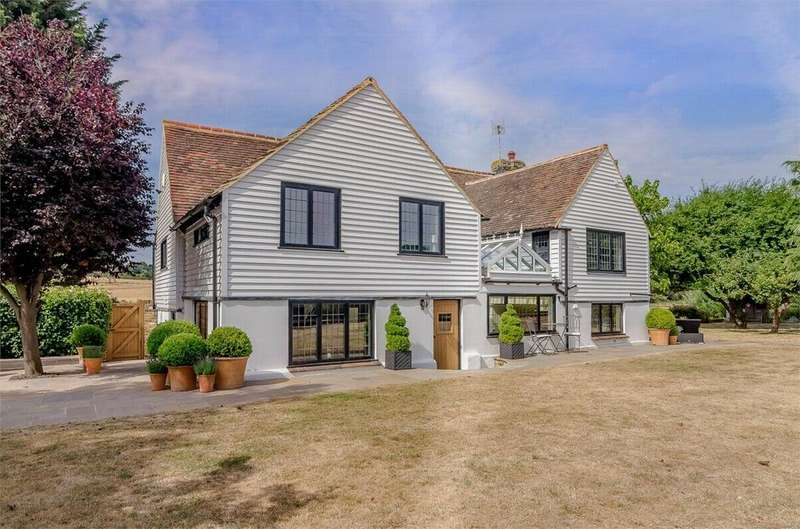 4 Bedrooms Detached House for sale in Green Street Green Road, Longfield, Kent