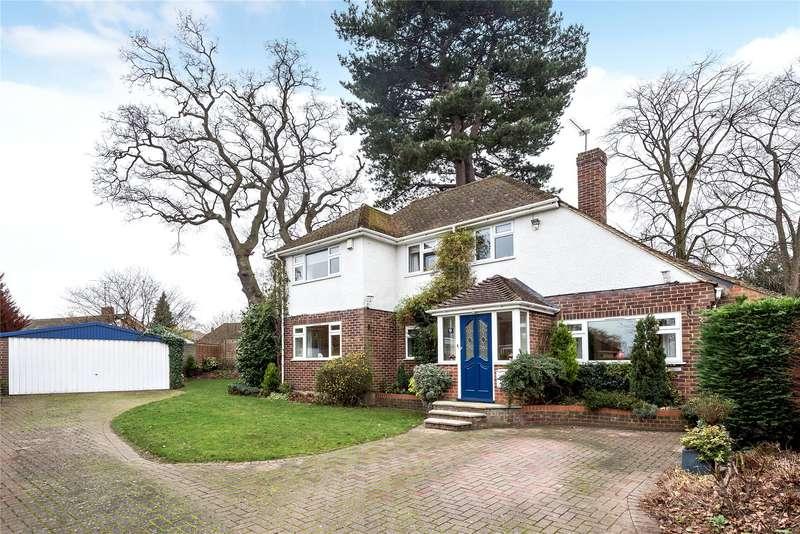 4 Bedrooms Detached House for sale in Oaklands Drive, Wokingham, Berkshire, RG41