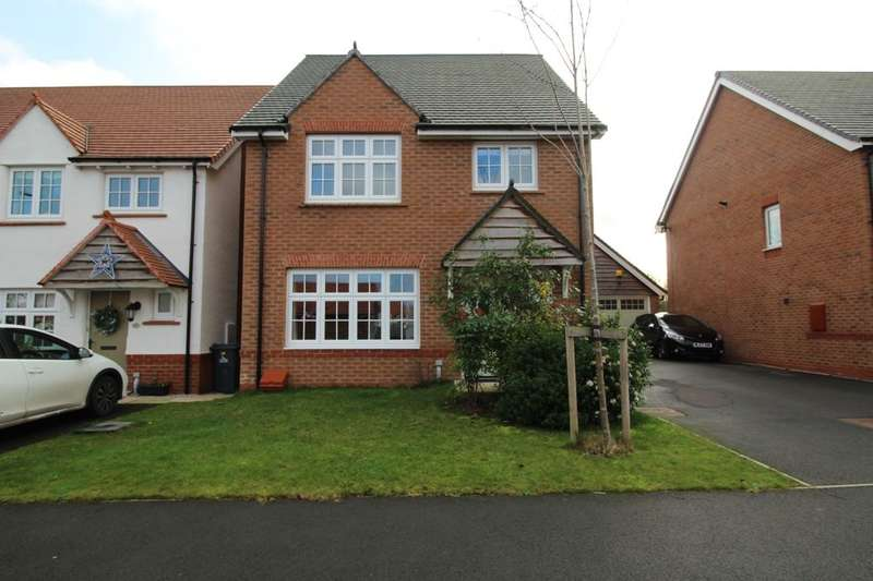 4 Bedrooms Detached House for sale in Honey Spot Crescent, Widnes, WA8
