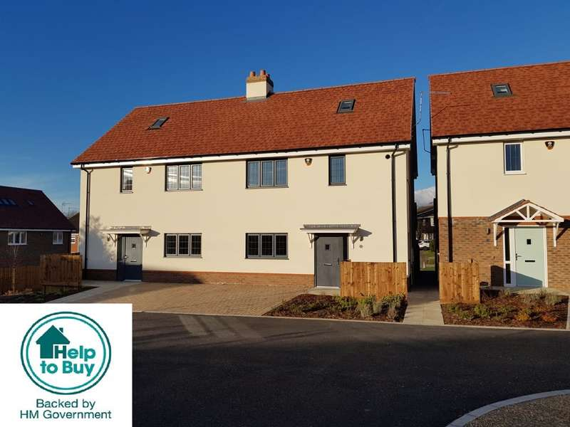 3 Bedrooms Semi Detached House for sale in George Street, Maulden, Bedfordshire, MK45