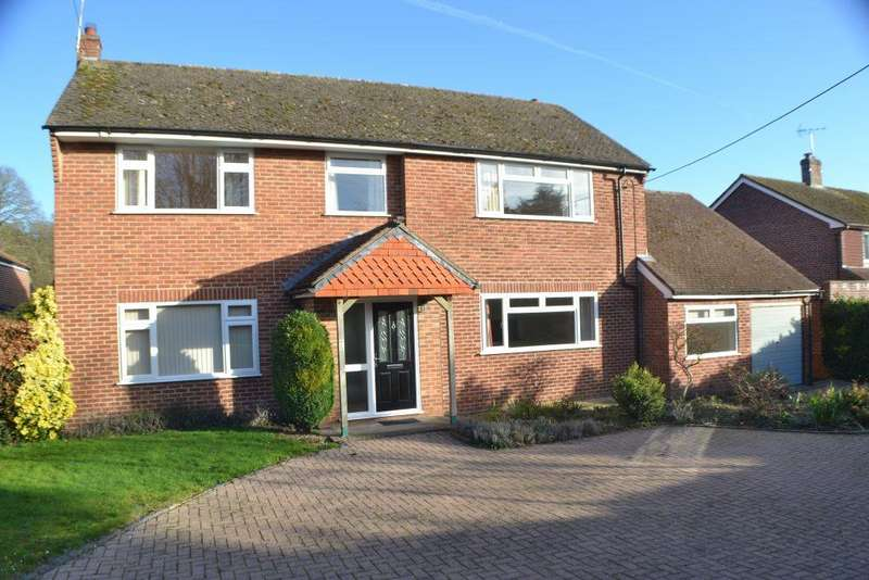 4 Bedrooms Detached House for sale in Kiln Drive Curridge RG18 9EG