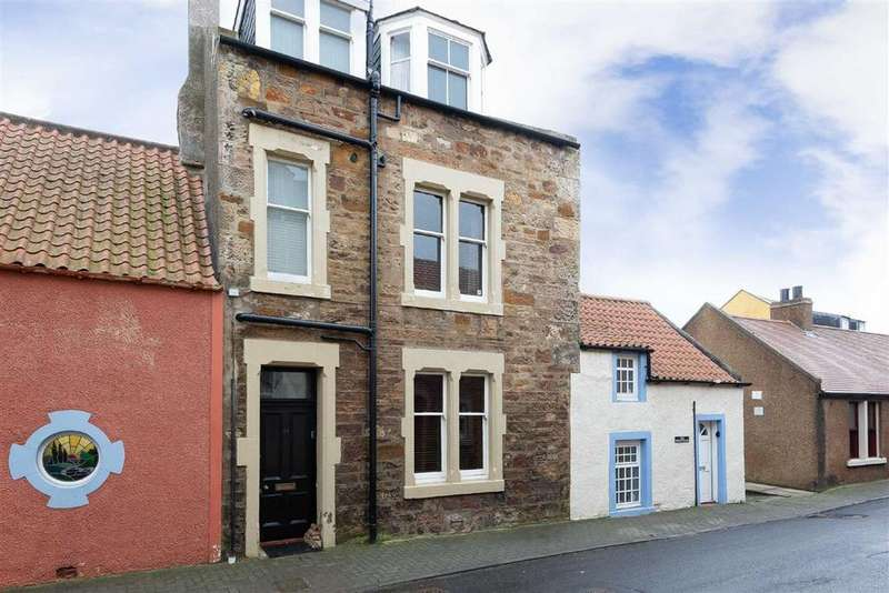 4 Bedrooms Terraced House for sale in James Street, Cellardyke, Fife