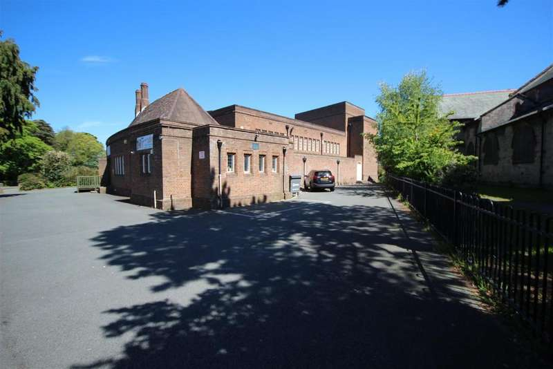 18 Bedrooms Land Commercial for sale in St Johns Church House, Cliff Road, Old Colwyn