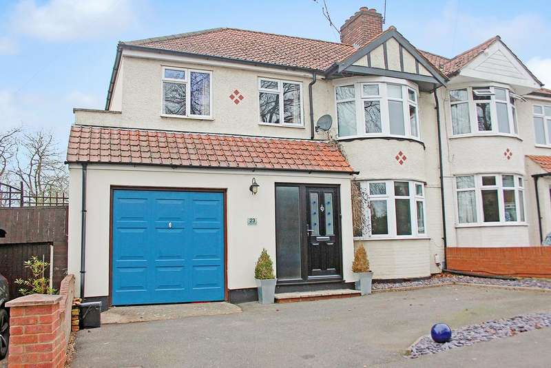 4 Bedrooms Semi Detached House for sale in Hargrave Road, Maidenhead SL6