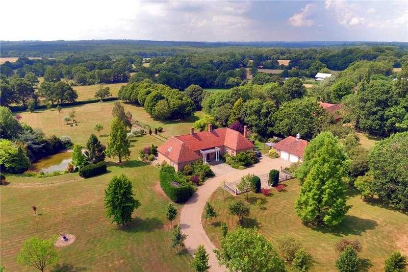 7 Bedrooms Detached House for sale in Sissinghurst Road, Biddenden, Ashford, Kent, TN27