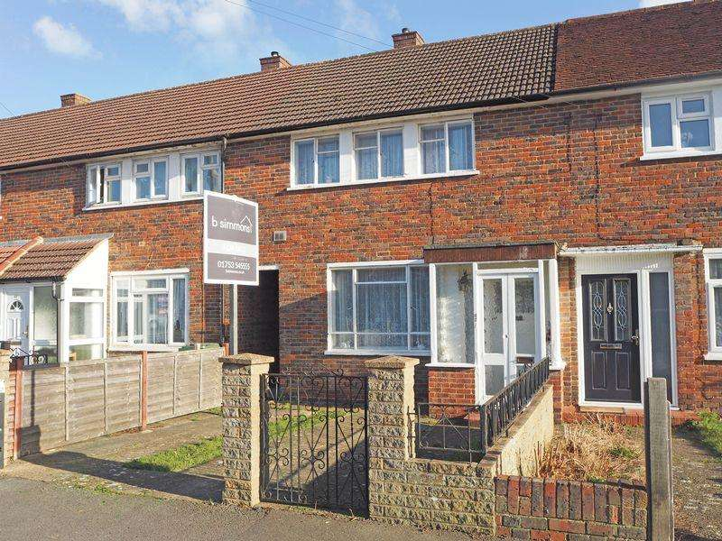 3 Bedrooms Terraced House for sale in Trelawney Avenue, Langley