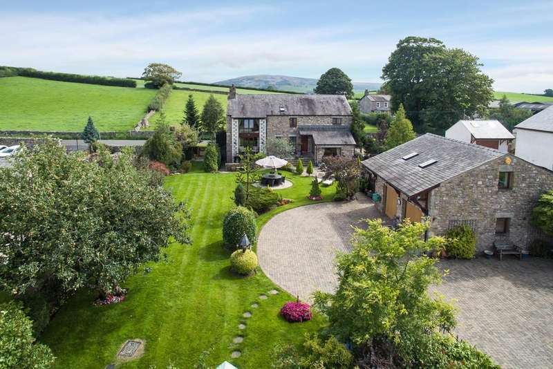4 Bedrooms Barn Conversion Character Property for sale in Lodge Barn, Ackenthwaite, Milnthorpe, Cumbria, LA7 7DQ