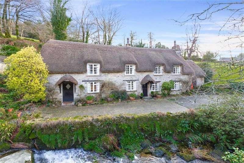 3 Bedrooms Detached House for sale in Buckland In The Moor, Devon, TQ13