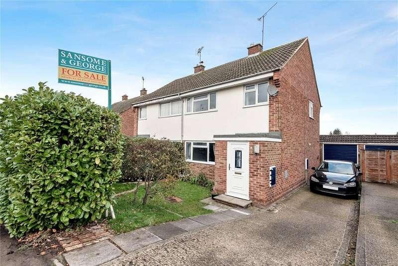 3 Bedrooms Semi Detached House for sale in Westwood Road, Newbury, Berkshire, RG14