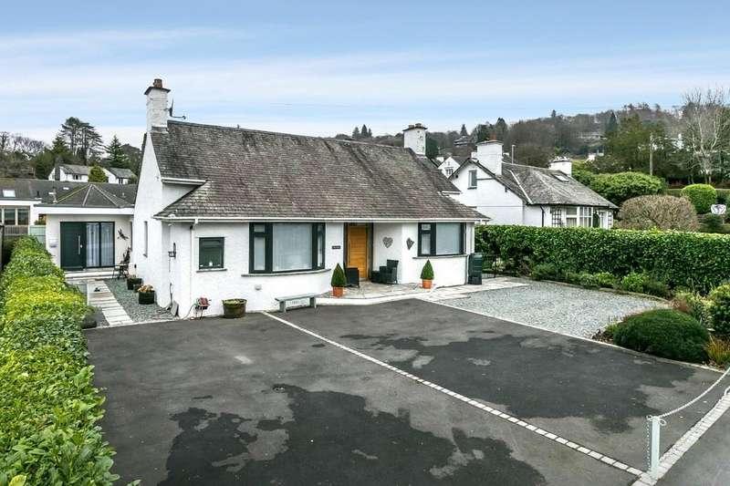 3 Bedrooms Detached Bungalow for sale in Glebe Holme, Glebe Road, Bowness-On-Windermere, Cumbria, LA23 3HB