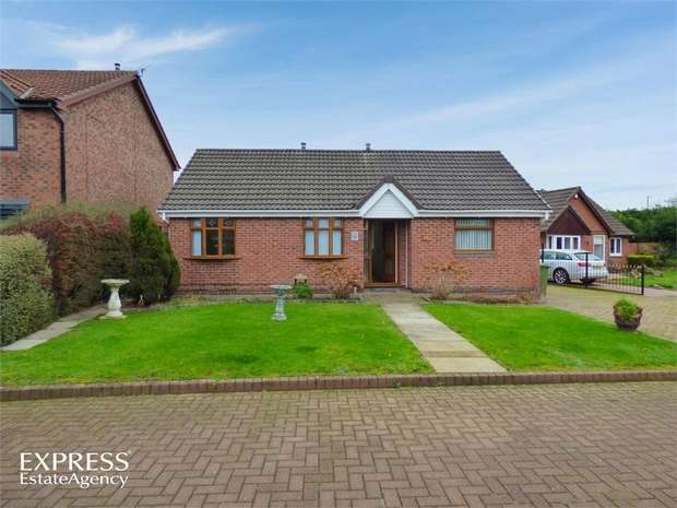 2 Bedrooms Detached Bungalow for sale in Woodvale Drive, Hebburn, Tyne and Wear