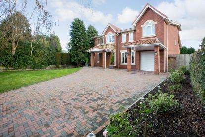 5 Bedrooms Detached House for sale in Edge Hill, Darras Hall, Ponteland, Northumberland, NE20