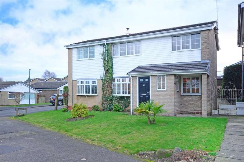 4 Bedrooms Detached House for sale in Gosforth Drive, Dronfield, Sheffield
