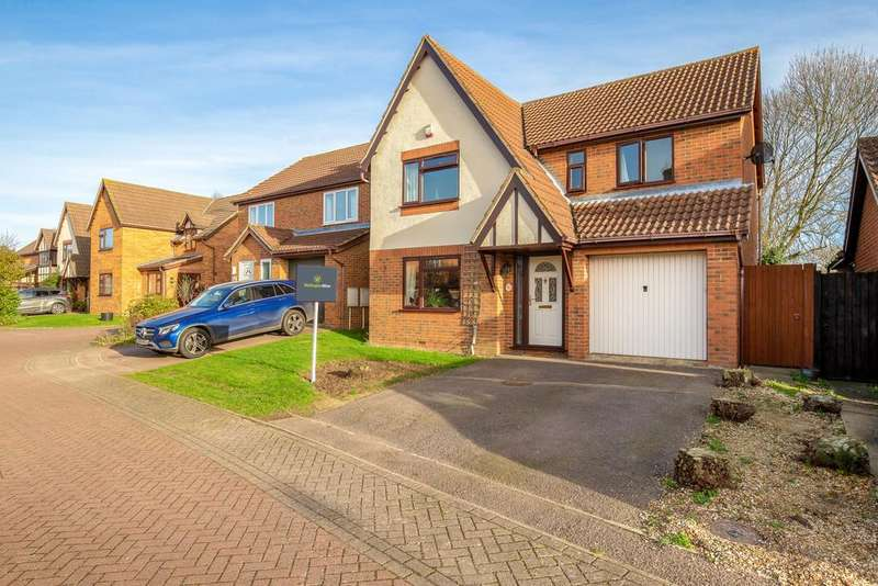 4 Bedrooms Detached House for sale in Lancaster Close, Warboys