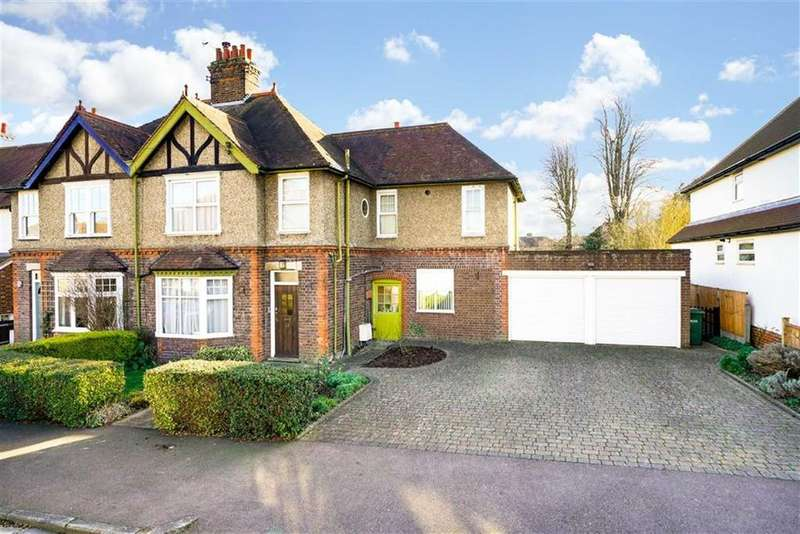 4 Bedrooms Semi Detached House for sale in Lea Road, Harpenden, Herts