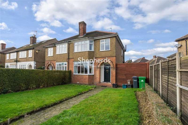 3 Bedrooms Semi Detached House for sale in Stanstead Road, HODDESDON, Hertfordshire, EN11