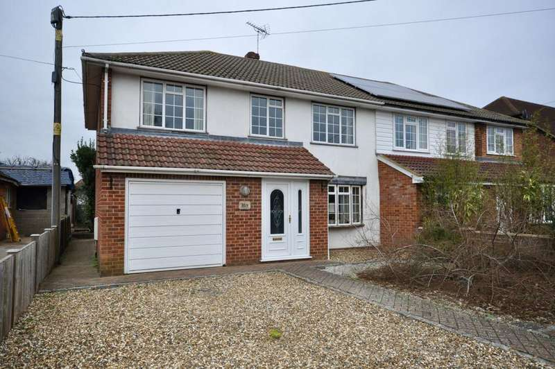4 Bedrooms Semi Detached House for sale in The Ridgeway, Woodley, Reading, RG5 3QD