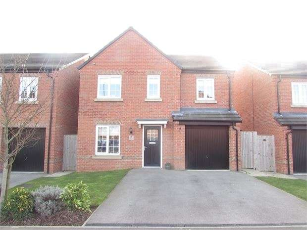 4 Bedrooms Detached House for sale in Falcon Close, Mexborough, Mexborough, S64 0NU