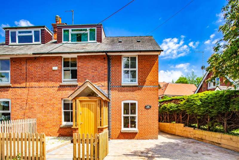 4 Bedrooms Semi Detached House for sale in Bradgate Cottage, Woodcote, RG8