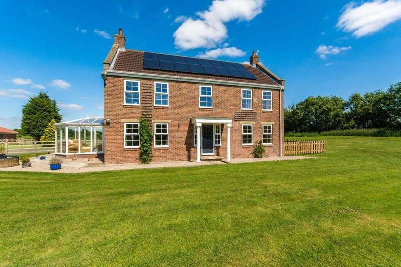 4 Bedrooms Detached House for sale in Willitoft Road, Spaldington, Goole, Yorkshire, DN14