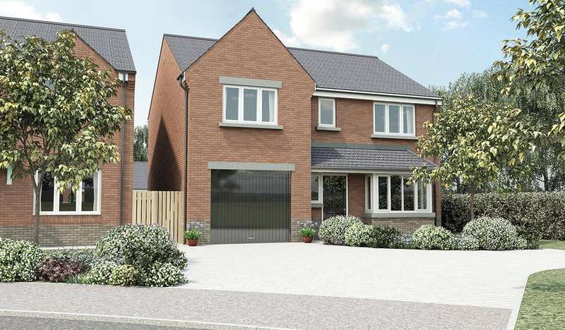 4 Bedrooms Detached House for sale in The Westbury, The Croft II, Calow, S44