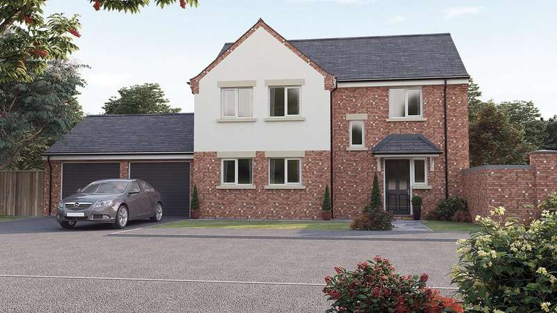 4 Bedrooms Detached House for sale in The Lindisfarne, The Croft II, Calow, S44