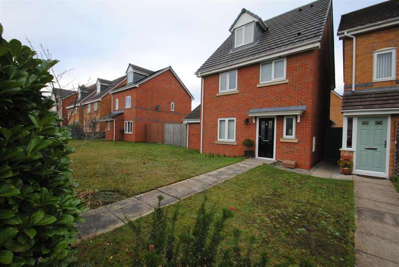 4 Bedrooms Detached House for sale in Ferryside, THELWALL, Warrington, WA4