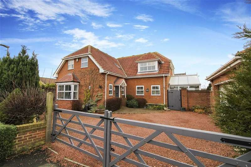 4 Bedrooms Detached House for sale in Merrington Close, New Hartley, Northumberland