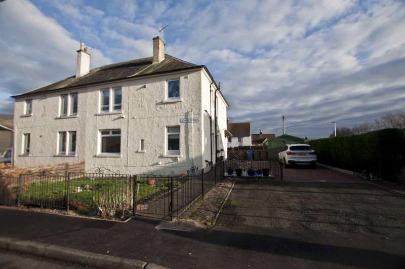 2 Bedrooms Flat for sale in 6 School Terrace Coalsnaughton, Tillicoultry, Clackmannanshire FK13 6JX, UK