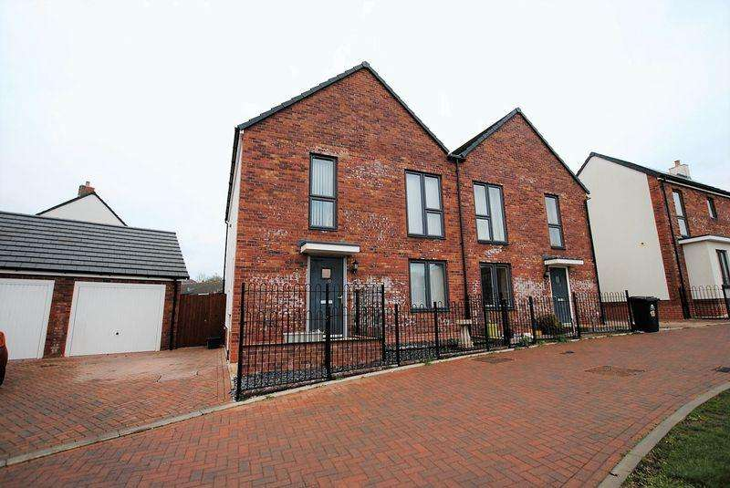 4 Bedrooms Semi Detached House for sale in Cinders Crescent, Cinderford
