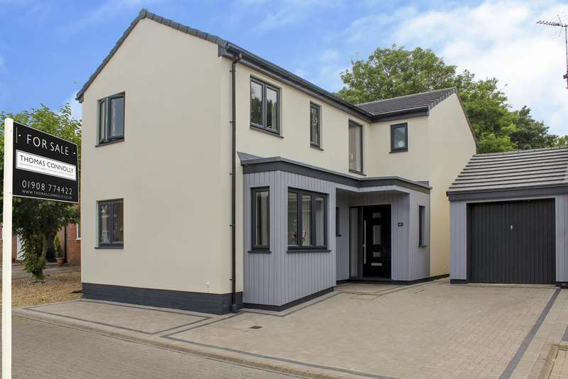 4 Bedrooms Detached House for sale in Kirtlington, Downhead Park, Milton Keynes MK15