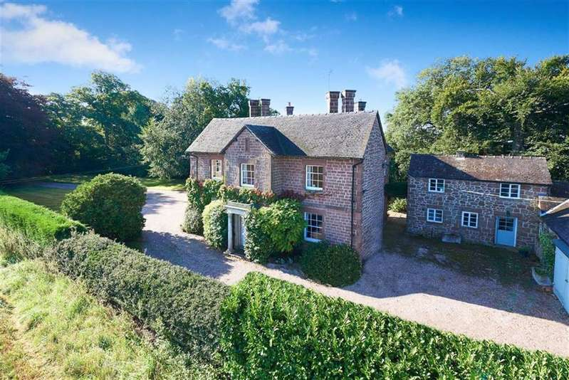 5 Bedrooms Detached House for sale in Stanton Upon Hine Heath, Shrewsbury