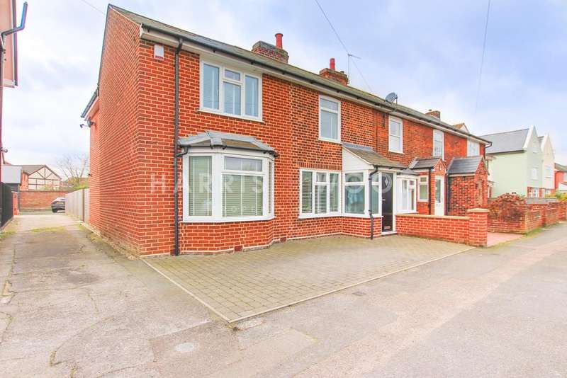 3 Bedrooms End Of Terrace House for sale in Gosbecks Road, Colchester, CO2