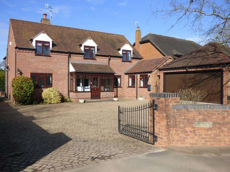 4 Bedrooms Detached House for sale in Yew Tree House, Ryall Road, Holly Green, Upton upon Severn, Worcestershire, WR8 0PG