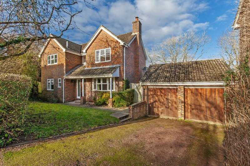 4 Bedrooms Detached House for sale in Hazel Grove, Badger Farm, Winchester, SO22