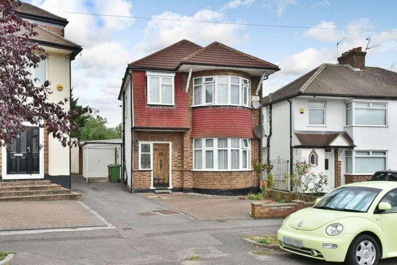 3 Bedrooms Detached House for sale in Allandale Crescent, Potters Bar, EN6