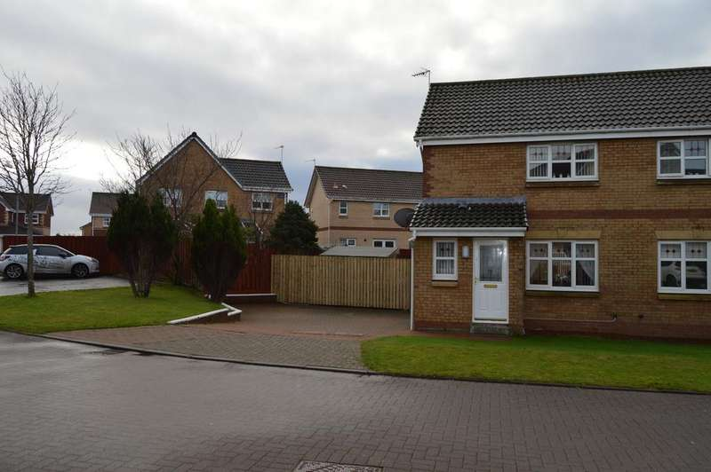 2 Bedrooms Semi Detached House for sale in KEMP COURT, SALTCOATS KA21