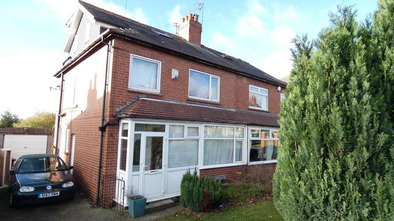 4 Bedrooms Semi Detached House for sale in Wensley Drive, Leeds LS7
