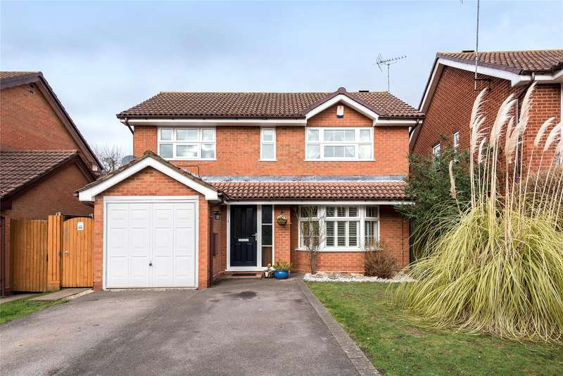 4 Bedrooms Detached House for sale in Woodford Green, Bracknell, Berkshire, RG12