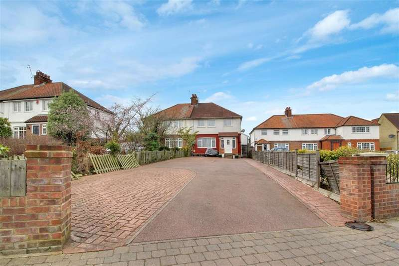 3 Bedrooms Semi Detached House for sale in Worlds End Lane, Winchmore Hill, N21